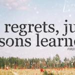 Despre regrete