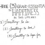 Despre efort, fericire si speranta