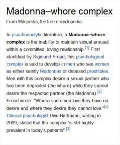 Madonnawhorecomplex